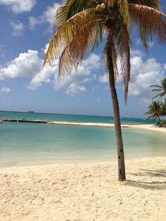 Beach area @ Renaissance Aruba