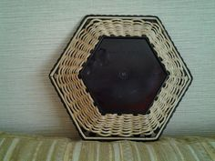 .основа - готовая китайская бамбуковая корзинка