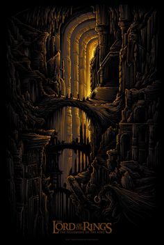 The Lord of the Rings: The Fellowship of the Ring - Dan Mumford