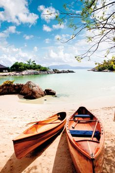 Praia de Fora, Santa Catarina (south of Brazil) and canoes for explorer in all of us. Places Around The World, Oh The Places You'll Go, Places To Travel, Places To Visit, Around The Worlds, Travel Destinations, Travel Pics, Travel Ideas, Travel Guide