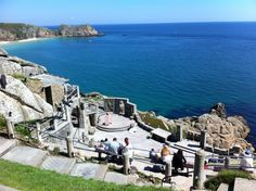 The Minack open-air theatre