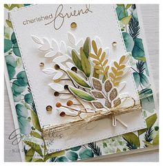 Forever Greenery DSP Cards | Blue Rose Paper Treasures