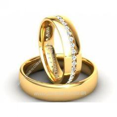 Alianças de Casamento em Ouro 18k Marialva - 5924