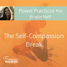 """""""The Self-Compassion Break"""" is one of the most effective exercises that Kristen teaches in her Mindful Self-Compassion program. This practice is """"very portable and can be be used in daily life whenever you encounter difficult moments,"""" says Kristin. Mindful Self Compassion, Self Compassion Quotes, Guided Meditation For Anxiety, Loving Kindness Meditation, Substance Abuse Counseling, Sensory Therapy, Self Acceptance, Self Healing, Mind Body Soul"""