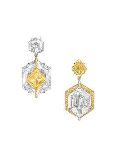 A pair of earrings from BOGH-ART