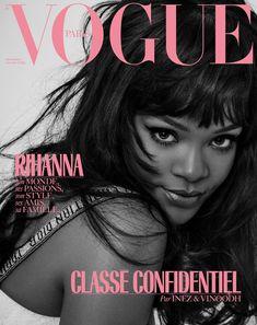 Third Cover if Rih for Vogue Paris Magazine! #rihanna #vogue