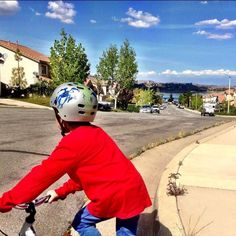 #SUPPORTLOCALBIKESHOPS Weekend field trips  Because these are the memories to have of your kids.  That moment and they're off on their own! We hope you're out there too making memories right alongside them.  #weekend #pause We will never forget his love for his first two wheels #family #fun #kids #adventure #outside #bike #pedal #bmx #mtb #fixie #instabike #bikelove #active #summer #eatsleepriderepeat