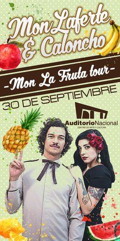 Mon Laferte & Caloncho - Auditorio Nacional - 30 de septiembre