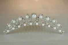 This can be done with ivory pearls too.