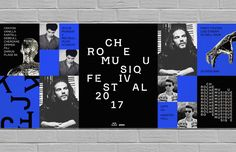 Roche Musique is an record label based in Paris, borns in tours in 2012 from House to R&B. They are leading the way to a new french sound. The idea for this identity came from the beat pattern. The type classification and flexible type system was cerate… Graphic Design Posters, Graphic Design Typography, Hoarding Design, School Application, School Of Visual Arts, Event Branding, Poster S, Poster Wall, Illustration