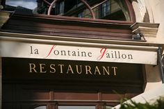 Restaurant La Fontaine Gaillon - Paris.  Traditional french food in a fine dining style near Opera and close to The Chess Hotel.  This restaurant has been created by our famous actor Gérard Depardieu.  http://www.restaurant-la-fontaine-gaillon.com/fr/