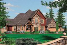 House Plan 48-359 4500 sq ft