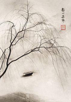 Picture by Lang Jingshan (1892-1995).