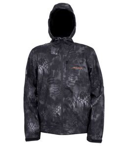 Grundens Gage Midway Hooded Softshell Camo