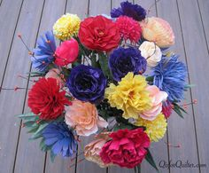 "paper flowers | Crepe Paper Flowers"" was published on October 15th, 2012 and is ..."