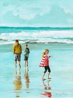 Beach Buddies by Paula Prass