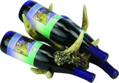 Antler Wine 3 Bottle Holder