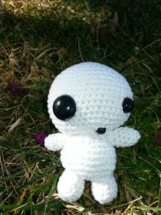 crochet kodama (la princesa mononoke)