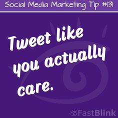 Social Media Marketing Tip #131  #SocialMedia #SocialMediaMarketing #Marketing #Quotes #MarketingTips #MarketingQuotes #Business