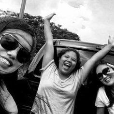 DPAD Day 11 : Fun  Backriding in a truck with my chingus. Soooooo fun! :)