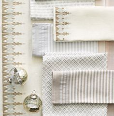 Holiday Collection: Bergen Runner and Assorted Table Linens #serenaandlily