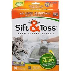 Sift And Toss    2846+ As Seen on TV Items: http://TVStuffReviews.com/sift-and-toss