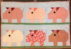 QDNW Patch Pig block pattern