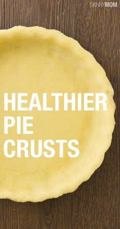 You have  to check out some of these low calorie pie crusts!
