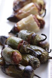 Seaside Kitchen: Paleo Spicy Turkey Stuffed Grilled Japalenos