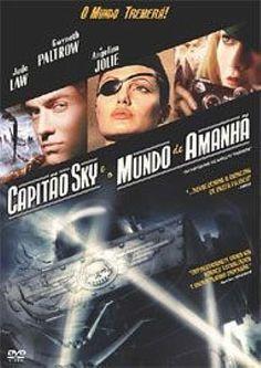 Capitão Sky e o mundo de amanhã.  Divertido!