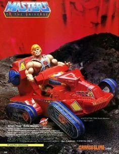 He-Man Attak Trak ad