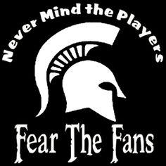 New Custom Screen Printed T-shirt Michigan State Never Mind The
