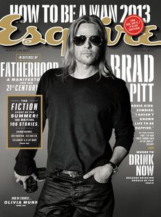 Brad Pitt covers @Esquire Magazine Magazine Magazine Magazine's 2013 June/July issue.