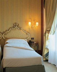 Monaco & Grand Canal Hotel in Venice - Twin Room Conference Facilities, Grand Canal, Italy Travel, Guest Room, Venice, Twin Room, Luxury, Bedroom, Monaco