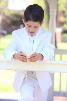Sebastians First Communion Photo By DT Photography