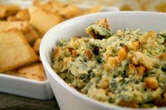 Artichoke dip is a classic party dish. With potatoes as the secret ingredient for extra creaminess, this version is anything but ordinary.