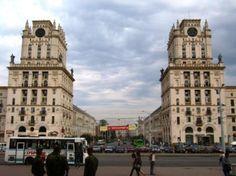 """""""The Gateway To Minsk"""" """"Minská brána"""" (un miembro de Facebook, abr 2010)"""