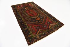 Red 4' 3 x 7' 4 Zanjan Persian Rug | Persian Rugs | iRugs UK