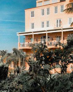 La Valencia Hotel, Mansions, House Styles, Home Decor, Decoration Home, Room Decor, Villas, Interior Design, Home Interiors