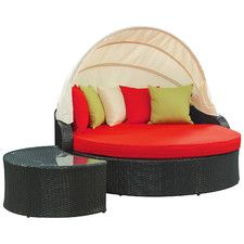 Quest Canopy Outdoor Patio Daybed. See More. Perectiona Canopy Daybed  sc 1 st  Pinterest & Modway Quest Canopy Outdoor Patio Daybed | Daybed Canopy and Products