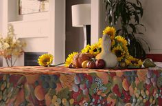 Rectangular or Oval 72 or 84 inches by SoleildeProvence on Etsy, $68.00