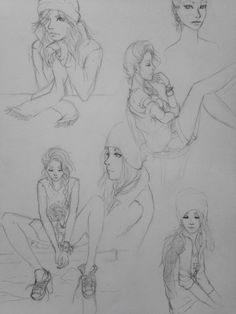 Sketches of Valen :)