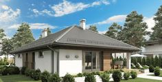 Proiect de casa parter SHC 151 - Smart Home Concept Smart Home, Gazebo, Outdoor Structures, Concept, Cots, Smart House, Kiosk, Pavilion, Cabana