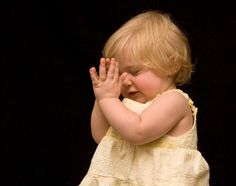 child praying for photo session to end - RJN Photography -- Rebecca Nagy