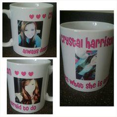 Custom personalized mug. www.facebook.com/mgspromos