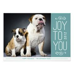 Joy to You By Origami Prints Holiday Photo Card