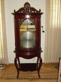 Collectors World West: Phonographs, Music Boxes, Edison, Victor, Victrola, Columbia, Regina