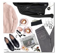 """It's okay to be different!"" by vespagirl ❤ liked on Polyvore featuring Martha Stewart, J.Crew, AG Adriano Goldschmied, Zara, AllSaints, NARS Cosmetics, Bobbi Brown Cosmetics, Sigma Beauty, women's clothing and women's fashion"