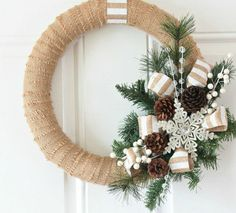 "12 DIY Christmas Wreaths That Scream ""Welcome, Santa!"" - First for Women"