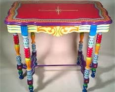 Mexican Painted Tables - Bing Images